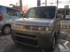 沖縄の中古車 ホンダ ザッツ 車両価格 19万円 リ済込 平成19年 9.9万K ストームシルバーメタリック