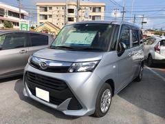 沖縄の中古車 ダイハツ トール 車両価格 156万円 リ済別 平成29年 1.5万K シルバー