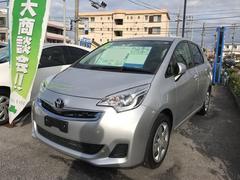 沖縄の中古車 トヨタ ラクティス 車両価格 83.8万円 リ済別 平成27年 5.5万K シルバー