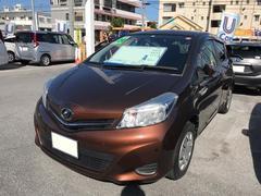 沖縄の中古車 トヨタ ヴィッツ 車両価格 57万円 リ済別 平成24年 8.2万K ブラウン