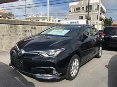 沖縄の中古車 トヨタ オーリス 車両価格 145万円 リ済別 平成27年 3.8万K ブラック
