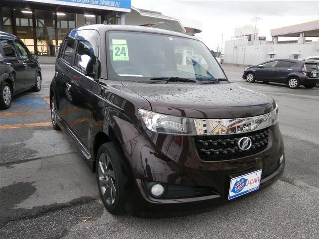 沖縄の中古車 トヨタ bB 車両価格 77万円 リ済別 2012(平成24)年 5.1万km ワイン