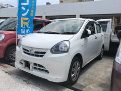 沖縄の中古車 ダイハツ ミライース 車両価格 38万円 リ済込 平成25年 8.2万K ホワイト