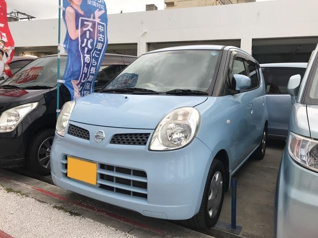 沖縄の中古車 日産 モコ 車両価格 31万円 リ済込 2010(平成22)年 10.5万km ライトブルー