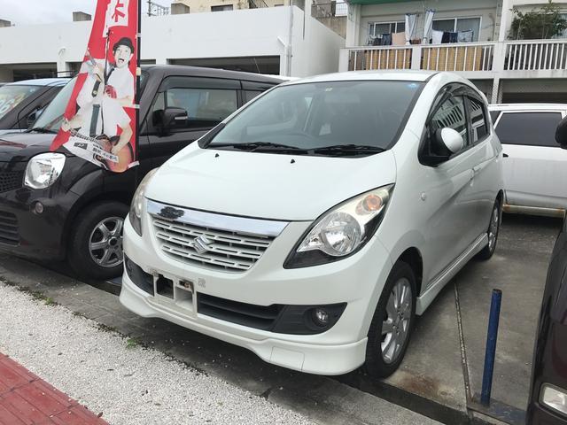沖縄の中古車 スズキ セルボ 車両価格 33万円 リ済込 2008(平成20)年 9.4万km パールホワイト