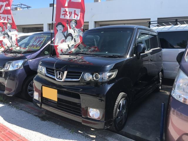 沖縄の中古車 ホンダ ゼストスパーク 車両価格 39万円 リ済込 2010(平成22)年 11.4万km ブラック