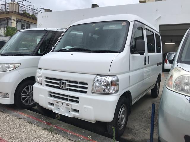 沖縄の中古車 ホンダ アクティバン 車両価格 38万円 リ済込 2013(平成25)年 9.2万km ホワイト