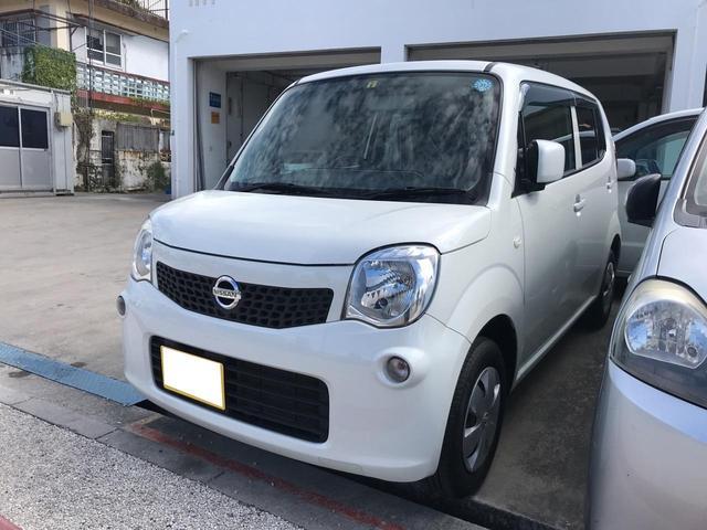 沖縄の中古車 日産 モコ 車両価格 39万円 リ済込 2014(平成26)年 12.6万km パールホワイト