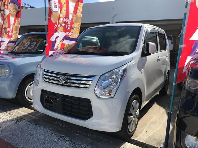 沖縄の中古車 スズキ ワゴンR 車両価格 43万円 リ済込 2014(平成26)年 10.2万km ホワイト