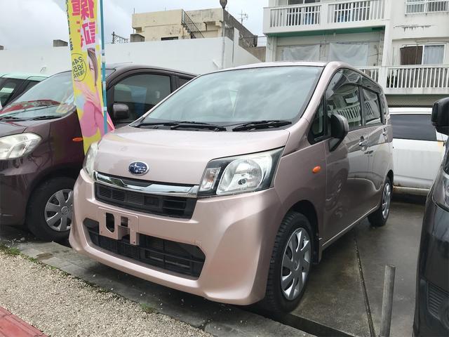 沖縄の中古車 スバル ステラ 車両価格 34万円 リ済込 2013(平成25)年 10.2万km ピンク