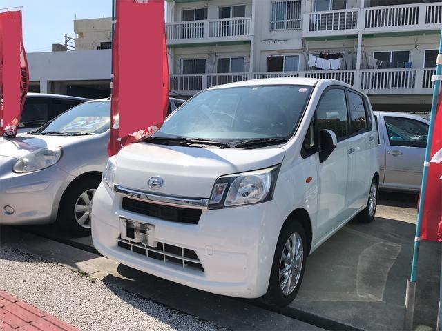 沖縄の中古車 ダイハツ ムーヴ 車両価格 39万円 リ済込 2014(平成26)年 11.9万km ホワイト