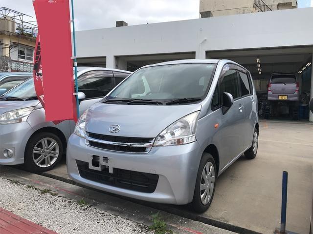 沖縄の中古車 ダイハツ ムーヴ 車両価格 34万円 リ済込 2012(平成24)年 12.2万km シルバー