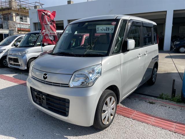 沖縄の中古車 マツダ フレアワゴン 車両価格 41万円 リ済込 2014(平成26)年 12.6万km シルバー
