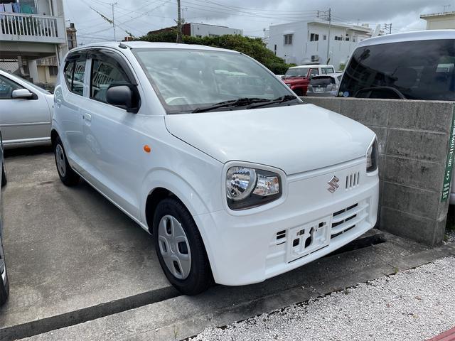 沖縄の中古車 スズキ アルト 車両価格 39万円 リ済込 2016(平成28)年 9.0万km ホワイト