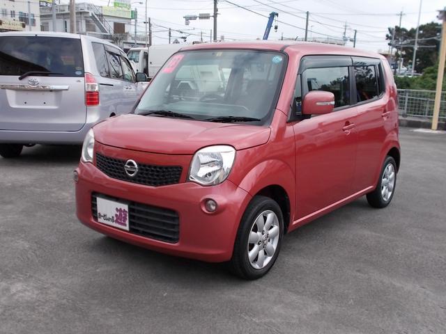 沖縄の中古車 日産 モコ 車両価格 42万円 リ済込 平成23年 12.2万km モコベリーPM