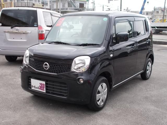 沖縄の中古車 日産 モコ 車両価格 42万円 リ済込 平成25年 10.3万km ブルーイッシュブラックP