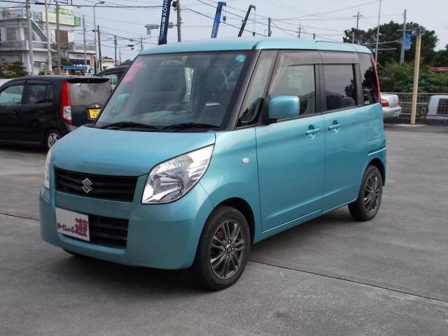 沖縄県の中古車ならパレット L 両側スライドドア プッシュスタート 新品タイヤ