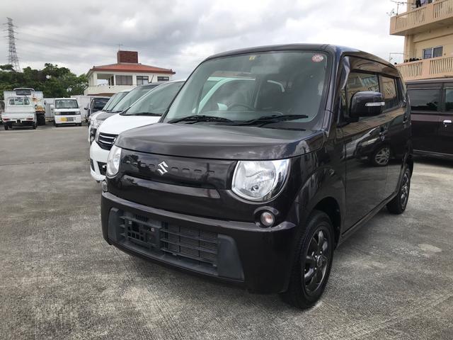 沖縄の中古車 スズキ MRワゴン 車両価格 39万円 リ済込 2012(平成24)年 8.9万km ブラウンM