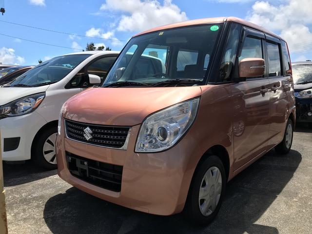 沖縄県沖縄市の中古車ならパレット リミテッドII バックモニター付CDプレーヤー スマートキー プッシュスタート 両側パワースライドドア