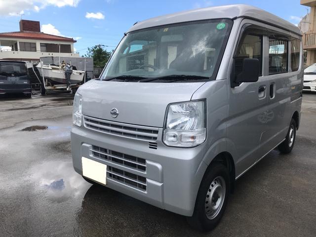 沖縄の中古車 日産 NV100クリッパーバン 車両価格 46万円 リ済別 2016(平成28)年 12.6万km シルバーM