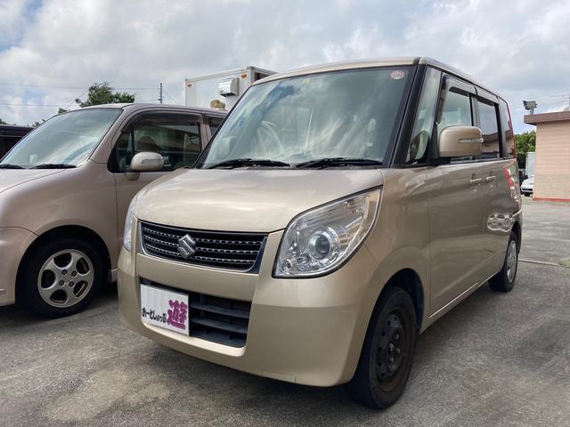 沖縄の中古車 スズキ パレット 車両価格 33万円 リ済込 2012(平成24)年 11.0万km クリアベージュメタリック