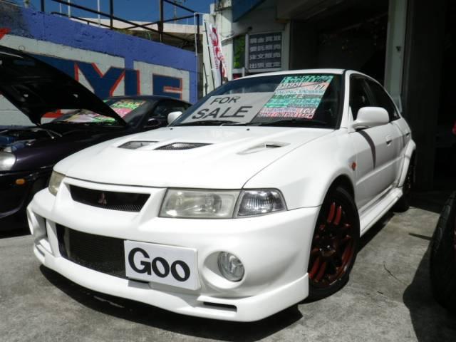 沖縄県沖縄市の中古車ならランサー GSRエボリューションVI 車高調 フルエアロ