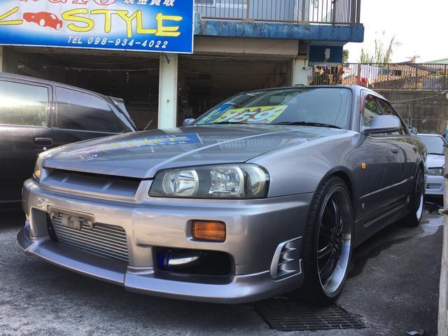 沖縄県の中古車ならスカイライン 25GTターボ 車高調 ニスモ強化クラッチ
