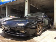 沖縄の中古車 マツダ サバンナRX−7 車両価格 119万円 リ済込 平成3年 7.4万K ブリリアントブラック