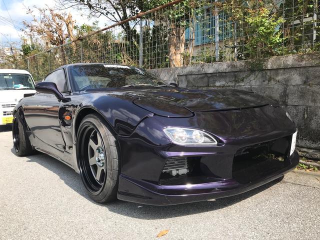 沖縄の中古車 マツダ RX-7 車両価格 159万円 リ済込 1993(平成5)年 走不明 ダークパープル