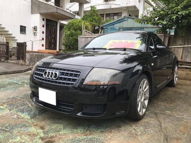 沖縄の中古車 アウディ アウディ TTクーペ 車両価格 39万円 リ済込 2006(平成18)年 8.3万km ブラックM