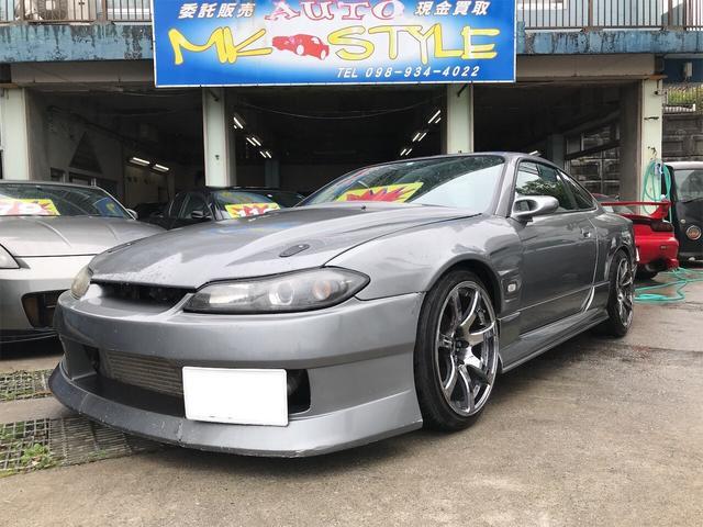 沖縄の中古車 日産 シルビア 車両価格 149万円 リ済別 2000(平成12)年 12.5万km グレーM