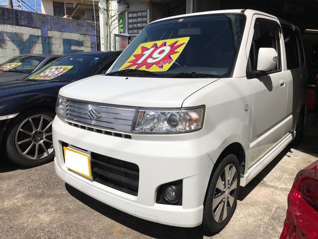 沖縄県沖縄市の中古車ならワゴンR スティングレーX スマートキー キーフリースタート 純正オーディオ 純正アルミ