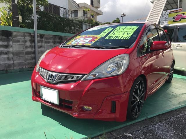 沖縄県の中古車ならフィット G・10thアニバーサリー 無限エアロ Bluetooth
