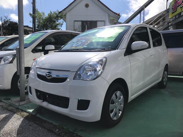 沖縄の中古車 ダイハツ ミラ 車両価格 24万円 リ済別 2008(平成20)年 4.9万km オフホワイト