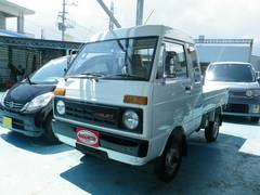 沖縄の中古車 ダイハツ ハイゼットトラック 車両価格 45万円 リ済込 昭和61年 6.9万K ホワイト
