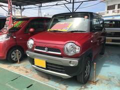 沖縄の中古車 スズキ ハスラー 車両価格 86万円 リ済別 平成26年 7.9万K レッドII