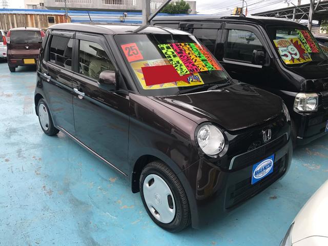 沖縄の中古車 ホンダ N-ONE 車両価格 74万円 リ済別 平成25年 5.5万km プレミアムディープモカパール