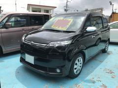 沖縄の中古車 トヨタ スペイド 車両価格 99万円 リ済別 平成27年 1.6万K ブラック