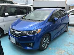 沖縄の中古車 ホンダ フィットハイブリッド 車両価格 135万円 リ済別 平成26年 6.0万K ブルー