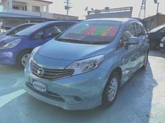 沖縄の中古車 日産 ノート 車両価格 69万円 リ済別 平成25年 6.1万K ライトブルー