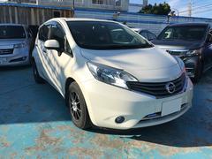 沖縄の中古車 日産 ノート 車両価格 69万円 リ済別 平成25年 7.2万K パール