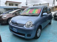 沖縄の中古車 トヨタ シエンタ 車両価格 75万円 リ済別 平成25年 7.7万K ライトブルーマイカメタリック