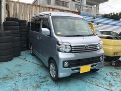 沖縄の中古車 ダイハツ アトレーワゴン 車両価格 95万円 リ済別 平成27年 4.9万K シルバー