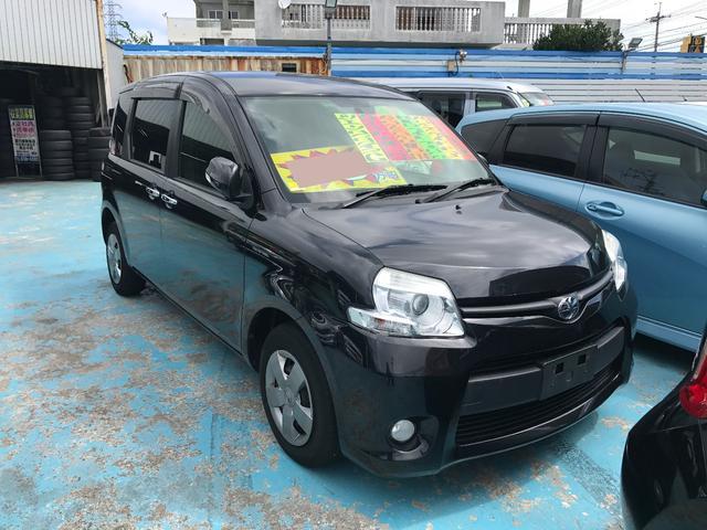 沖縄の中古車 トヨタ シエンタ 車両価格 85万円 リ済別 平成25年 6.7万km ブラックマイカ