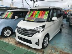 沖縄の中古車 日産 デイズルークス 車両価格 106万円 リ済別 平成26年 3.4万K パール