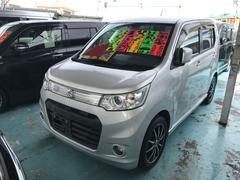 沖縄の中古車 スズキ ワゴンRスティングレー 車両価格 65万円 リ済別 平成24年 7.9万K シルバー