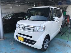 沖縄の中古車 ホンダ N BOX 車両価格 106万円 リ済別 平成27年 2.3万K パール