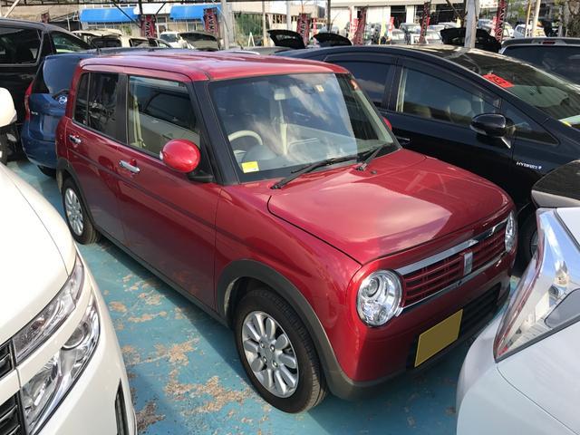 沖縄の中古車 スズキ アルトラパン 車両価格 105万円 リ済別 平成29年 0.4万km レッド