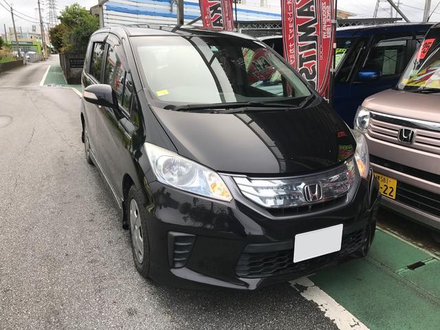 沖縄の中古車 ホンダ フリードハイブリッド 車両価格 109万円 リ済別 平成24年 7.1万km パープル