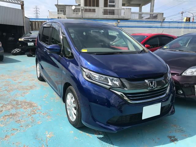 沖縄県の中古車ならフリードハイブリッド ハイブリッド・Gホンダセンシング ナビTV